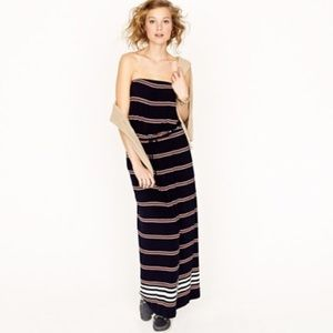 J. Crew Strapless Maxi Dress